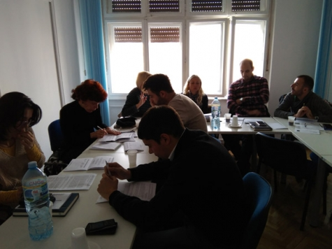 Two-day training on EU projects held in RADEI